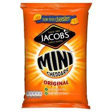 Jacobs Mini Cheddars 50g