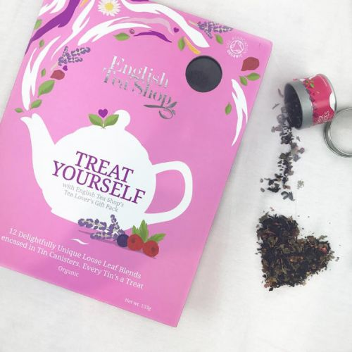 English Tea Shop - Organic Book Style Gift Pack - Loose Leaf Collection - SALE