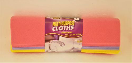 Squeaky Clean Multi-Purpose Cloths x8