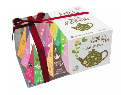 English Tea Shop Classic Organic Tea  Prism Collection