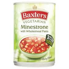 Baxters Vegetarian Minestrone Soup