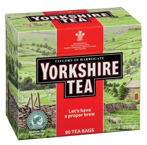 Yorkshire Tea - 80 teabags - PRICE DROP