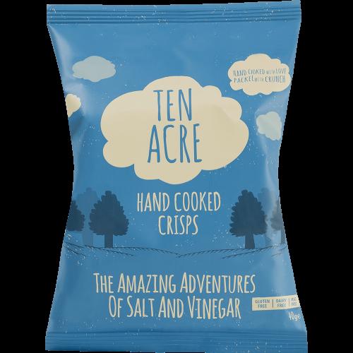 Ten Acre Crisps - The Amazing Adventures Of Salt & Vinegar 40g